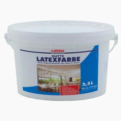 Wilckens Latexfarbe LF, matt weiss 2,5 L