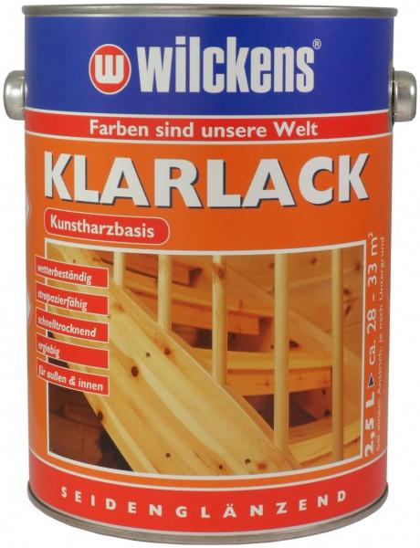Wilckens Klarlack seidenglänzend 2,5 l