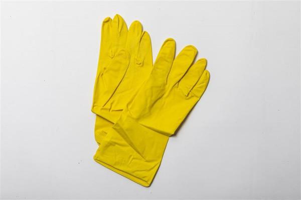 Thüga Latex Handschuhe Garten Gr.9 L Damen