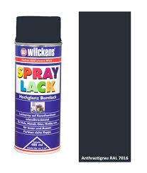 Wilckens Spray Lack Hochglanz, RAL 7016, Anthrazitgrau 0,4 l