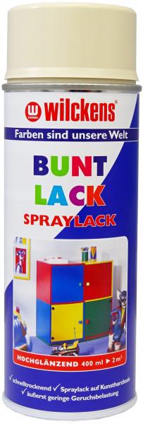 Wilckens Spray Lack Hochglanz, RAL 1015, Hellelfenbein 0,4 l