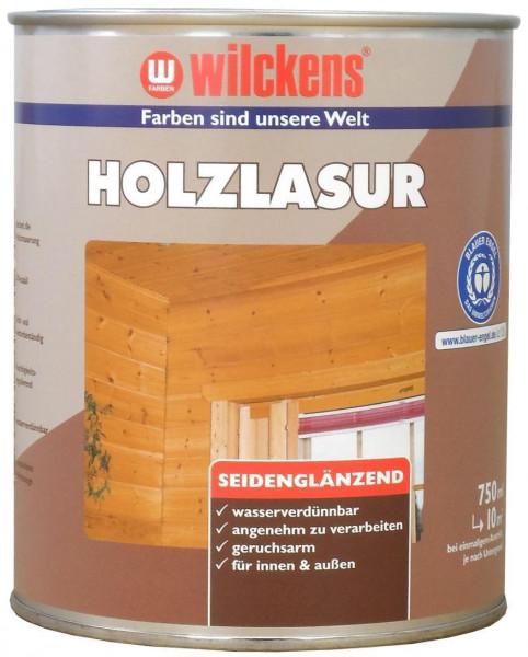 Wilckens Holzlasur LF Silbergrau, seidenglänzend 0,75 l