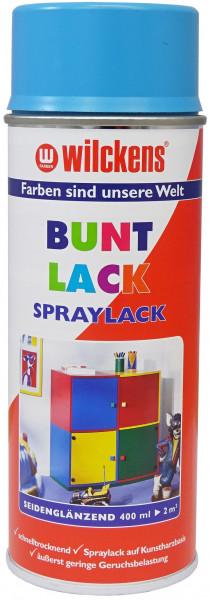 Wilckens Spray Lack Seidenglanz, Türkisblau 0,4 l