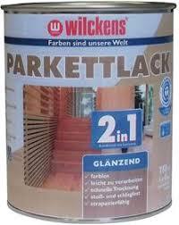 Wilckens Parkettlack 2in1 glänzend, Farblos 0,75 l