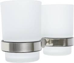Haceka Kosmos Tec Doppel-Glashalter + 2xGläser
