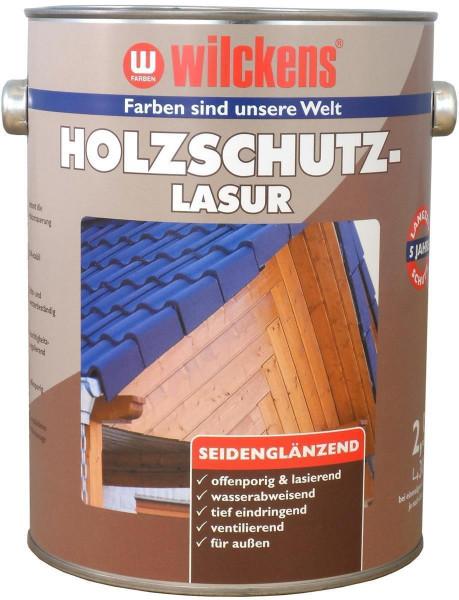 Wilckens Holzschutzlasur Nussbaum, seidenglänzend 2,5 l