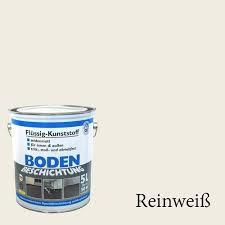 Wilckens Neutral Bodenbeschichtung LF, RAL 9010, Reinweiß 5 l
