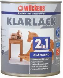 Wilckens Klarlack 2in1 glänzend 0,125 l
