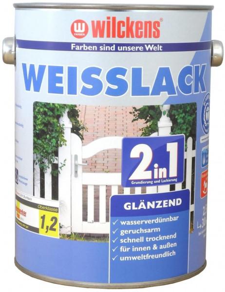 Wilckens Weisslack 2in1 glänzend 2,5 l