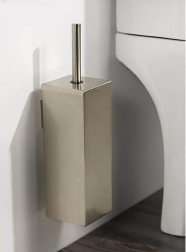 Haceka Mezzo Tec Toilettenbürstenhalter Metall geschlossen