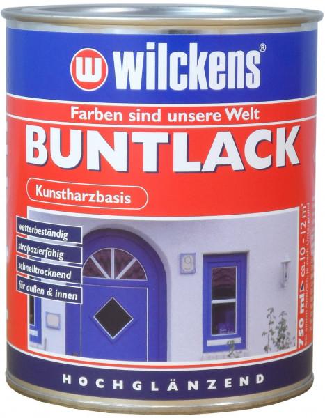 Wilckens Buntlack hochglänzend, RAL 1021, Rapsgelb 750 ml