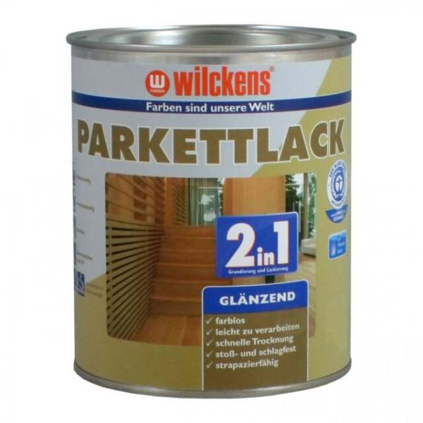 Wilckens Parkettlack 2in1 glänzend, Farblos 2,5 l