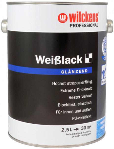 Wilckens Professional Weißlack glänzend 2,5 l