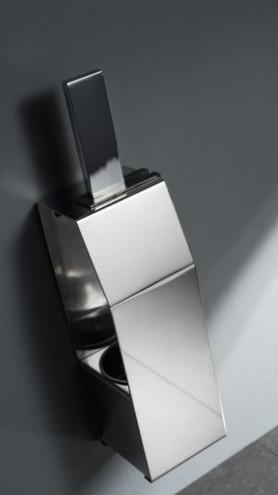 Haceka Edge Toilettenbürstenhalter Metall geschlossen, stehend