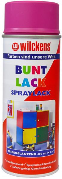 Wilckens Spray Lack Seidenglanz, Rosa 0,4 l