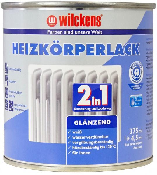Wilckens Heizkörperlack 2in1 Weiß, glänzend