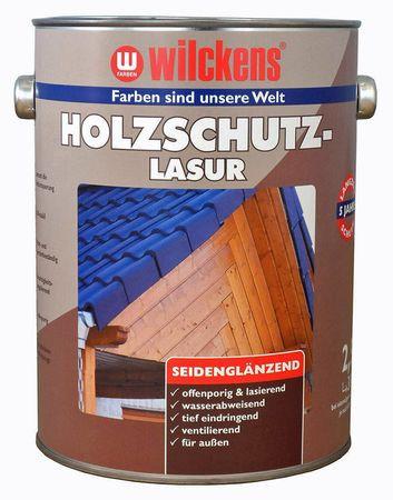 Wilckens Holzschutzlasur Mahagoni, seidenglänzend 5 l