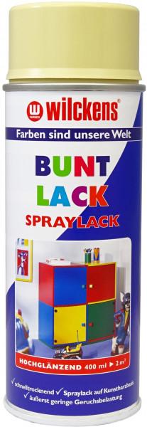 Wilckens Spray Lack Hochglanz, RAL 1014, Elfenbein 0,4 l