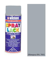Wilckens Spray Lack Hochglanz, RAL 7001, Silbergrau 0,4 l