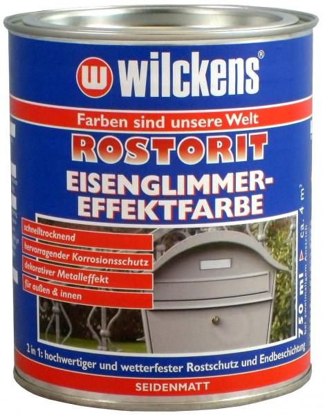 Wilckens Rostorit Eisenglimmereffekt, Grün, seidenmatt 0,75 l