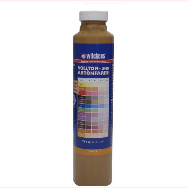 Wilckens Vollton- und Abtönfarbe, Caramel, matt 0,75 l
