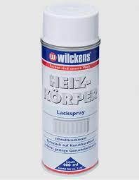 Wilckens Heizkörper Lackspray, Cremeweiß, hochglänzend 0,4 l