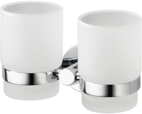 Haceka Kosmos Doppel-Glashalter + 2xGläser