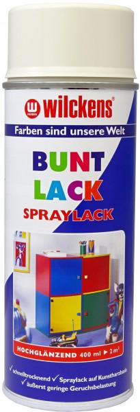 Wilckens Spray Lack Hochglanz, RAL 9001, Cremeweiß 0,4 l
