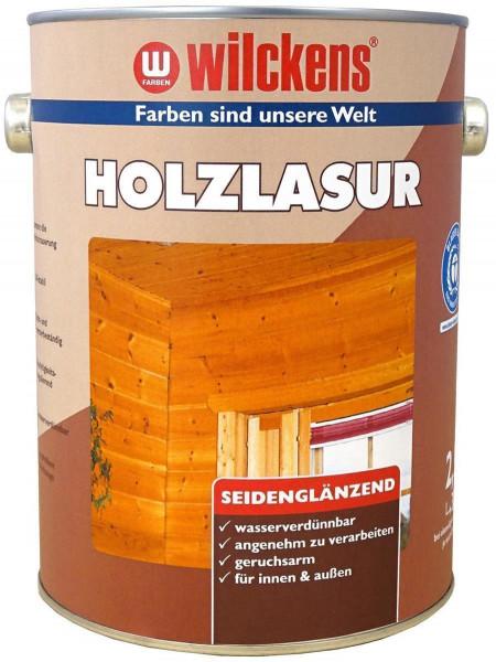 Wilckens Holzlasur LF Mahagoni, seidenglänzend 2,5 l